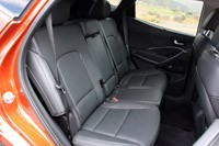 2013 Hyundai Santa Fe Sport rear seats
