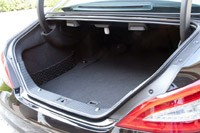 2012 Mercedes-Benz CLS63 AMG trunk