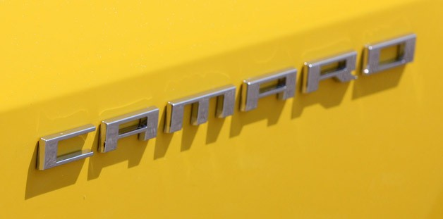 2013 Chevrolet Camaro 1LE badge