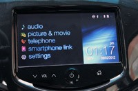 2013 Chevrolet Spark multimedia system display