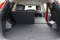 2013 Hyundai Santa Fe Sport rear cargo area
