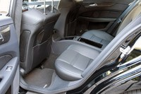 2012 Mercedes-Benz CLS63 AMG rear seats