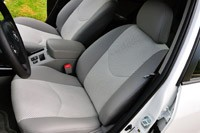 2013 Toyota RAV4 EV front seats