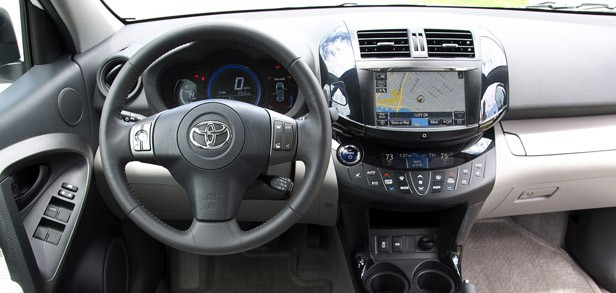 2013 Toyota RAV4 EV interior