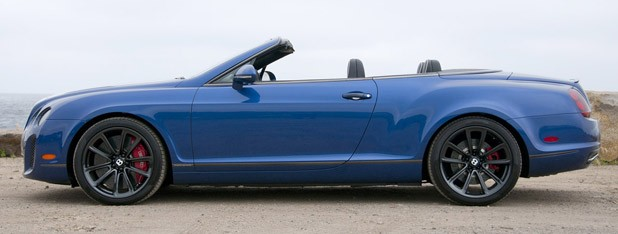 2012 Bentley Continental Supersports Convertible side view