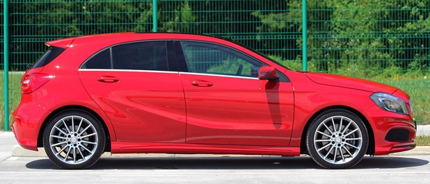 2012 Mercedes A-Class side view
