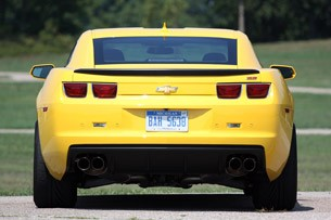 2013 Chevrolet Camaro 1LE rear view