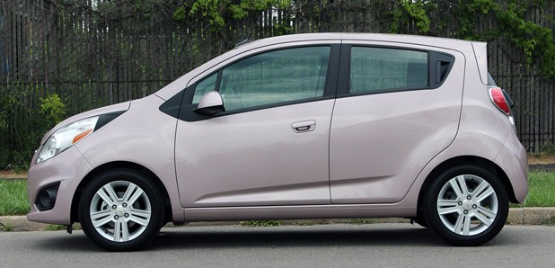 2013 Chevrolet Spark side view