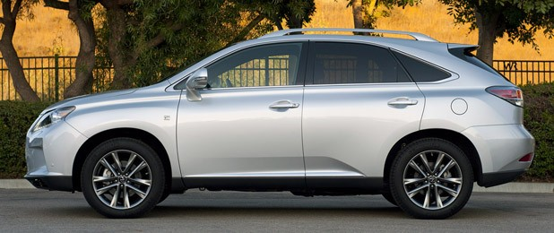 2013 Lexus RX 350 F Sport side view