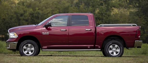 2013 Ram 1500 Crew Cab SLT 4x4 side view