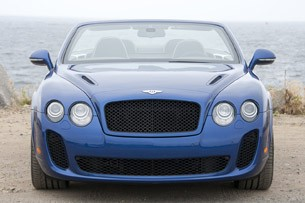 2012 Bentley Continental Supersports Convertible front view