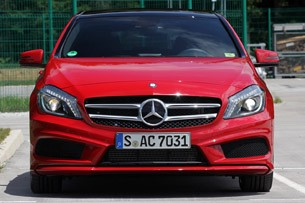 2012 Mercedes A-Class front view