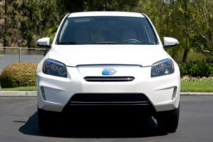 2013 Toyota RAV4 EV front view