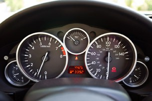 2012 Mazda MX-5 Miata Special Edition gauges
