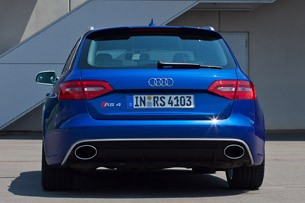 2012 Audi RS4 Avant rear view