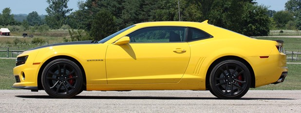 2013 Chevrolet Camaro 1LE side view