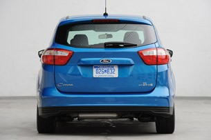 2013 Ford C-Max Hybrid rear view