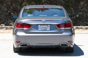 2013 Lexus LS rear view