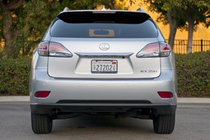 2013 Lexus RX 350 F Sport rear view