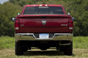 2013 Ram 1500 Crew Cab SLT 4x4 rear view