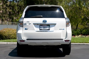 2013 Toyota RAV4 EV rear view