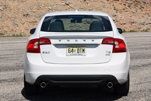 2013 Volvo S60 T5 AWD rear view