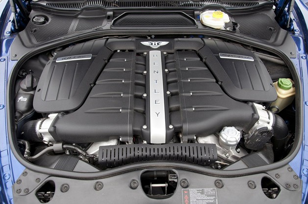 2012 Bentley Continental Supersports Convertible engine