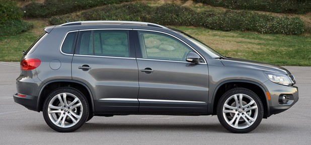 2012 Volkswagen Tiguan side view