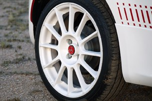 2012 Fiat 500 Abarth wheel