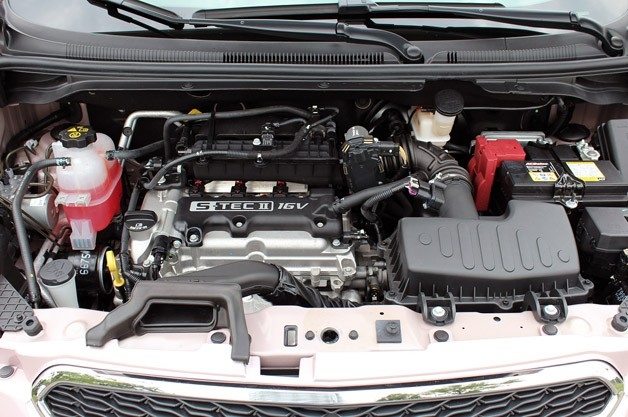 2013 Chevrolet Spark engine
