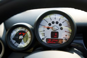 2012 Mini Cooper S Roadster gauges