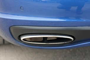 2012 Bentley Continental Supersports Convertible exhaust tip