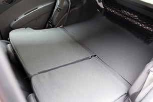 2013 Chevrolet Spark folded rear seats