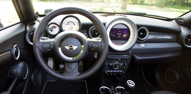 2012 Mini Cooper S Roadster interior
