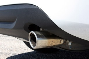 2013 Volvo S60 T5 AWD exhaust tip