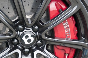 2012 Bentley Continental Supersports Convertible wheel detail