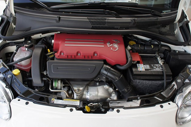 2012 Fiat 500 Abarth engine