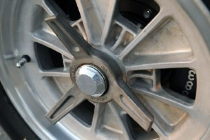 Shelby Cobra 289 FIA wheel detail