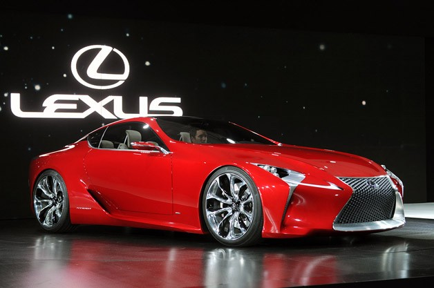 Lexus LF-LC concept - Detroit reveal