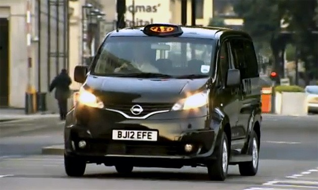 Nissan NV200 London 'black cab'