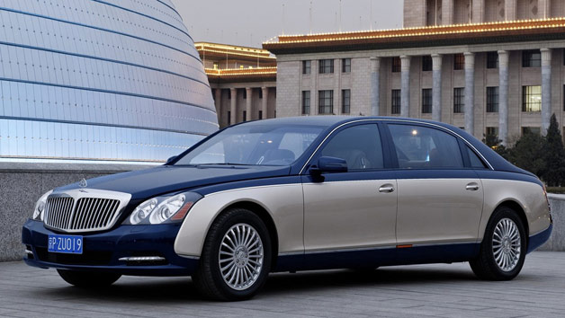Maybach 62 - two tone paint - front three-quarter view