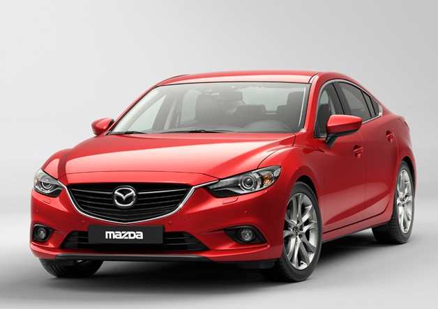2014 Mazda6 - front three-quarter view