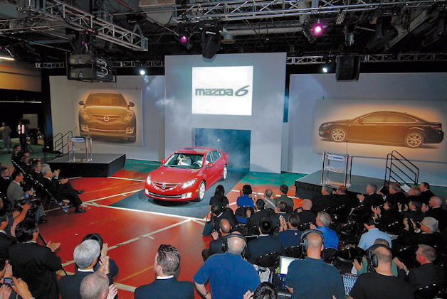 Mazda6 US production kickoff, 2008
