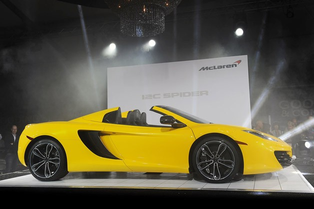 Monterey: McLaren MP4-12C Spider touches down in North America - Autoblog