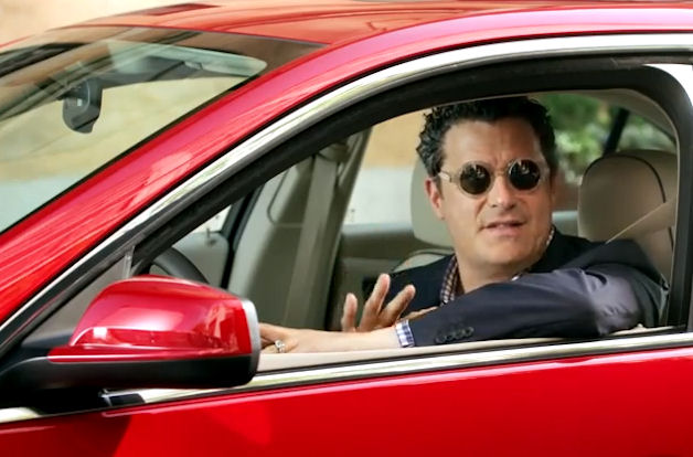 Isaac Mizrahi in the Chevy Malibu