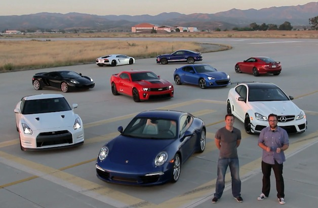 Motor Trend Best Driver's Car 2012 - overview shot