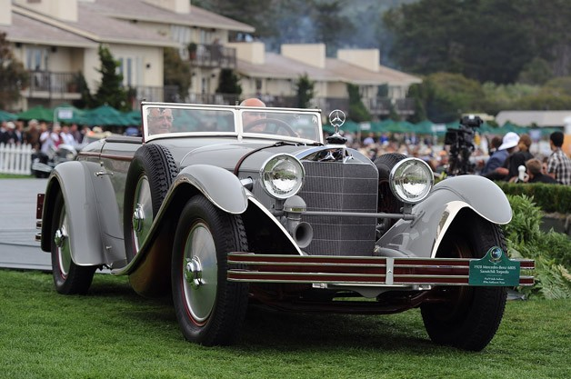 pebble beach 2012 winner 1928 Mercedes Benz 680S Saoutchik Torpedo takes 2012 Pebble Beach Best of Show