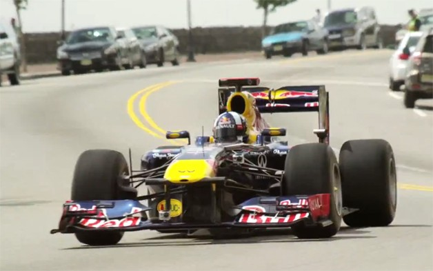 Red Bull F1 in New Jersey Video