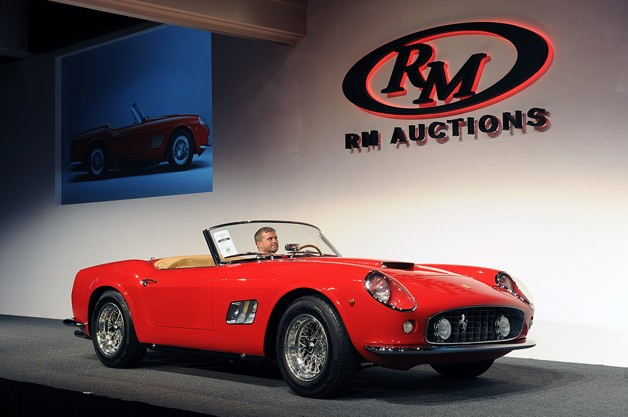 RM Monterey Auction 2012 - Ferrari California crosses the block