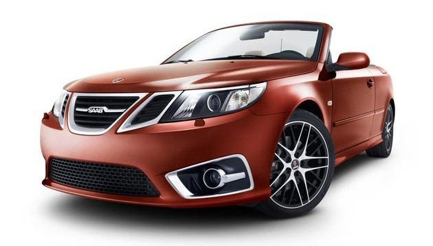 Saab 9-3 Convertible Independence Edition - front three-quarter view